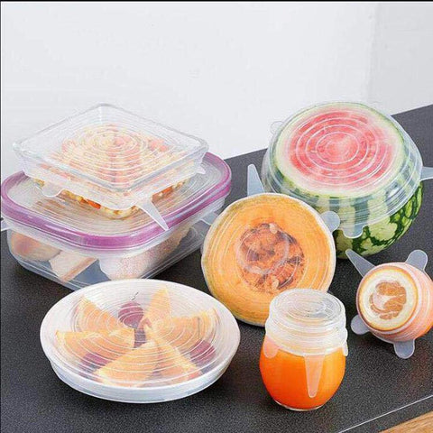 houseandwares.com Reusable Silicone Vacuum Sealed Lids freeshipping - houseandwares.com