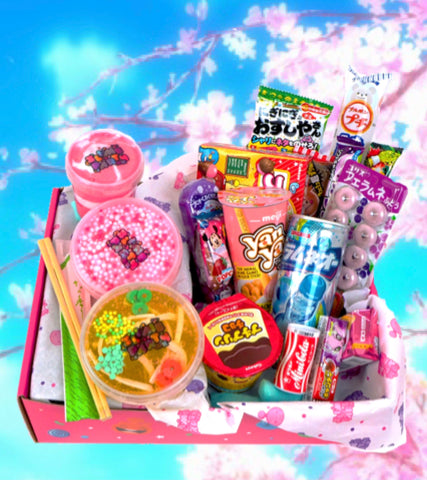 Japanese Slime and Snack Box
