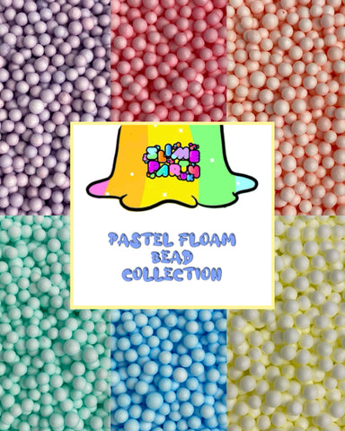 Pastel Floam Bead Collection