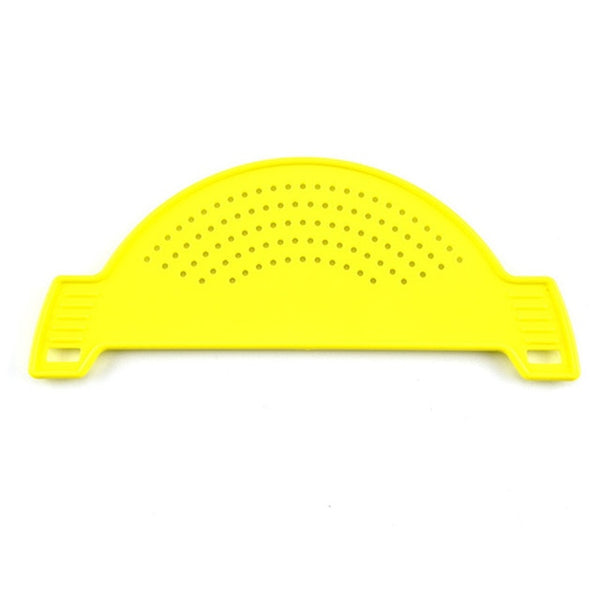 Plastic Pot Funnel Strainers Water Filters Rice Accessories Handle Type Fruit Vegetable Wash Colander Kitchen Gadgets