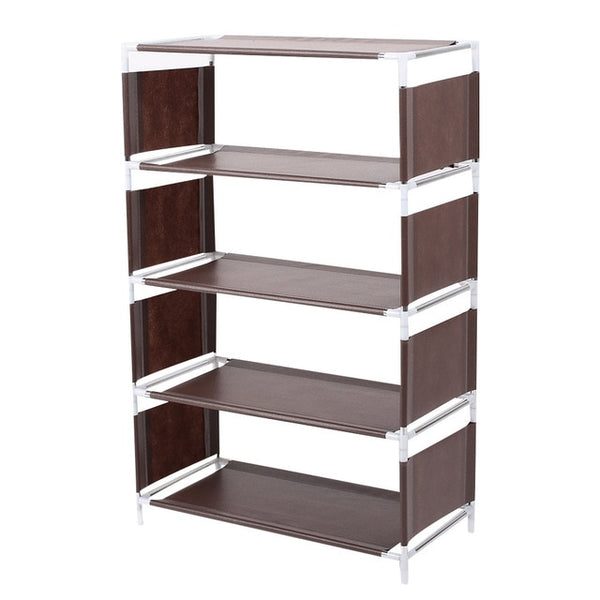 Non-woven shoe storage rack, hall closet, adjustable storage rack, removable storage rack shoe door, DIY, easy to install