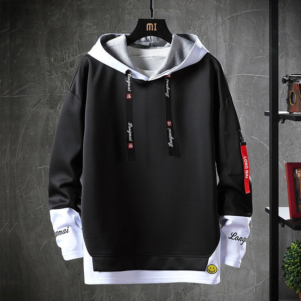 Japanese Style Hip Hop Casual Sweatshirts