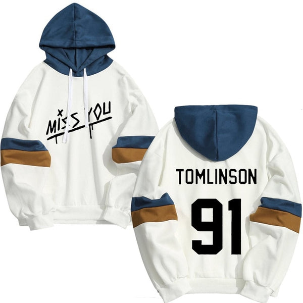 Louis Tomlinson One Direction Hoodies Spring Autumn Streetwear The New Young People Boy Hoodie Sweatshirt