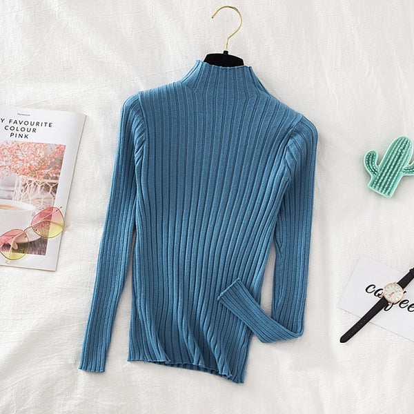 Croysier Pullover Ribbed Knitted Sweater