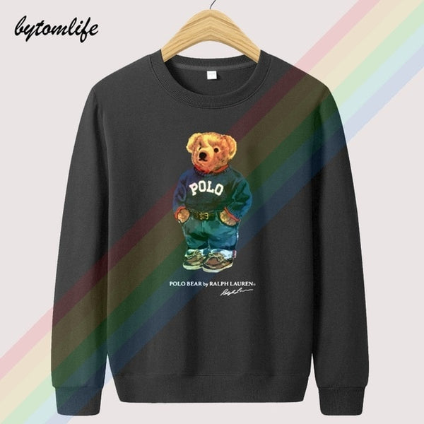 Retro Polos Bear Limited Edition Lauren Hoodies