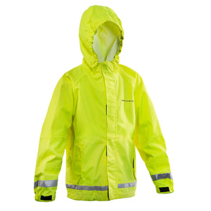 Grundens Kids' Weather Watch Jacket - Hi Vis Yellow