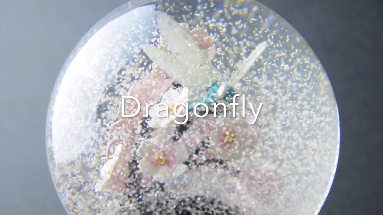 Dragonfly Snow Globe by CoolSnowGlobes