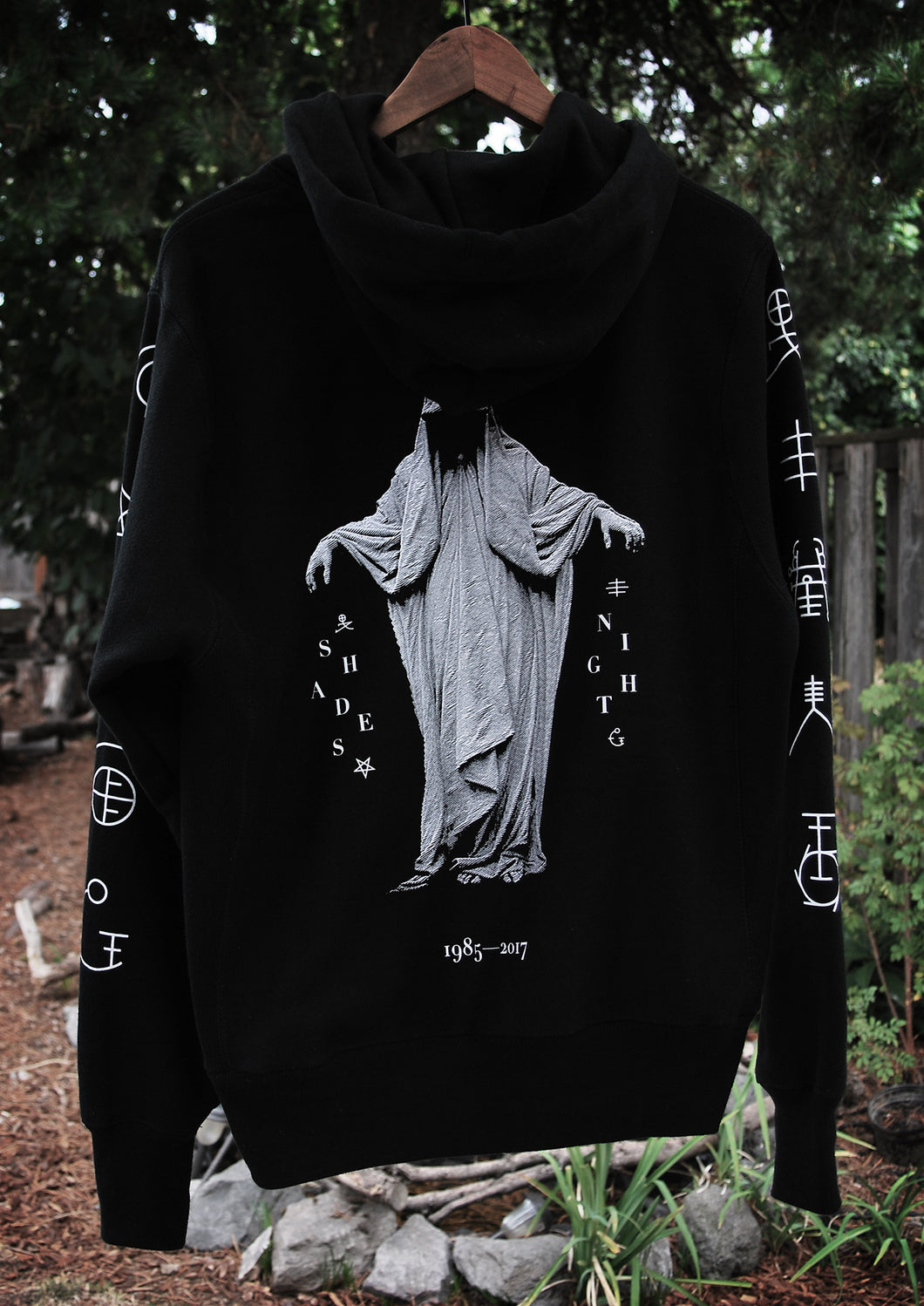 'Night The Dreadless Angel' Hooded Pullover