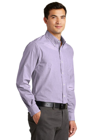 Port Authority® Platted Pattern Easy Care™ Shirt