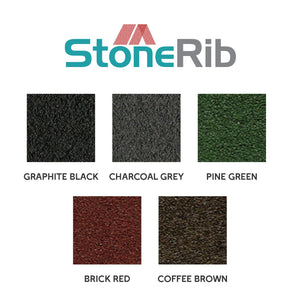 PREMIUM STONE-COATED HIGH RIB ROOF