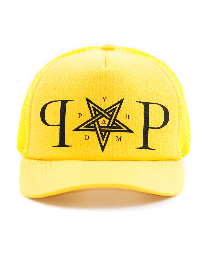 Yellow Trucker PP Hat