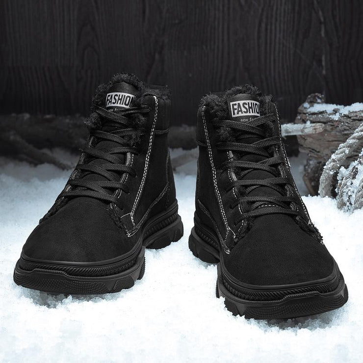 Man Martin boots plus cotton comfortable warm winter boots