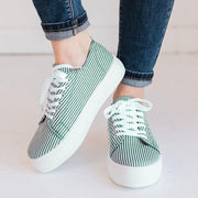 Women's Platform Lace Up Sneakers