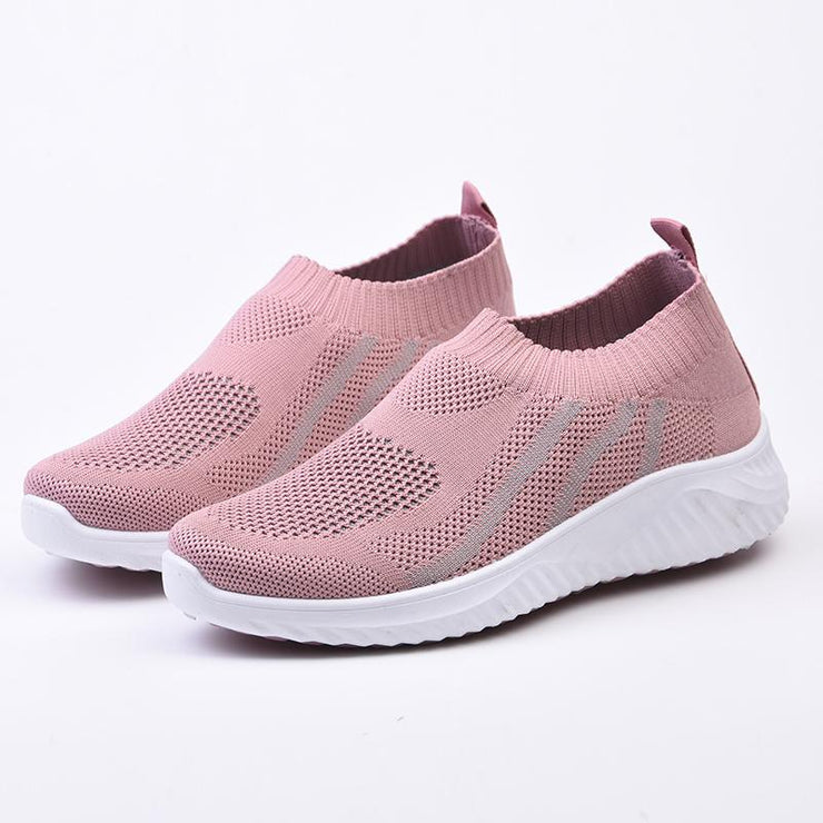 Women's Colorblock Breathable Lightweight Running Sneakers