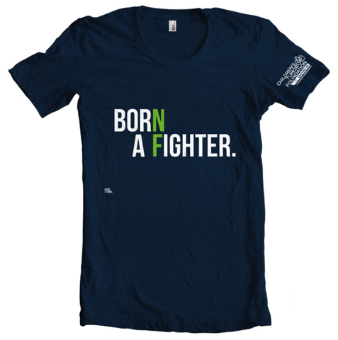 'Born a Fighter' T-Shirt