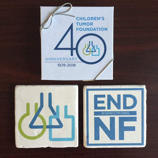 40th Anniversary Coaster Set