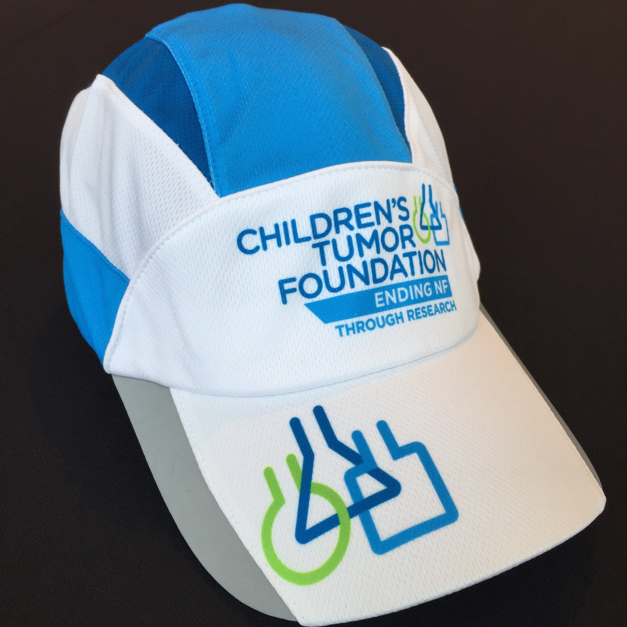 BoCo White Running Hat – Children s Tumor Foundation 3938e3f20b8