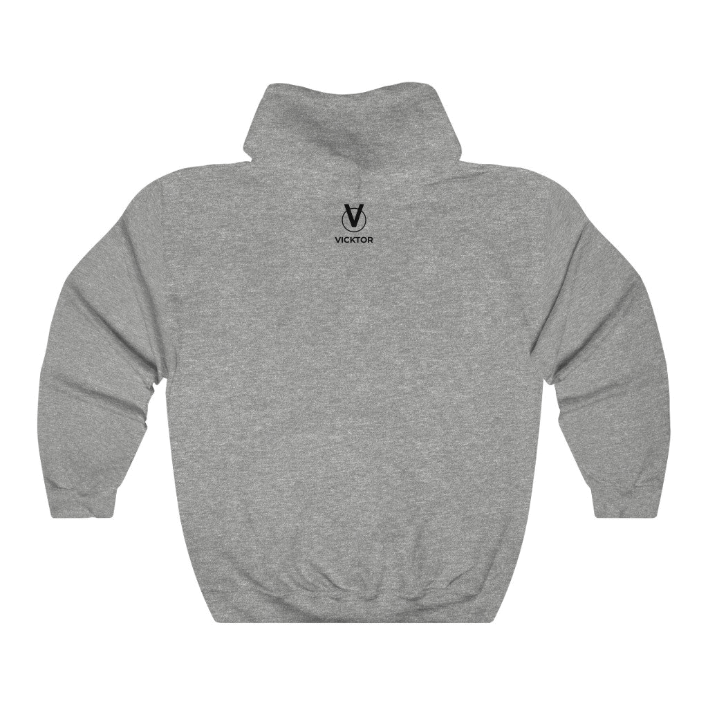Vicktor-A-Black-Cat-hoodie-Grey-back