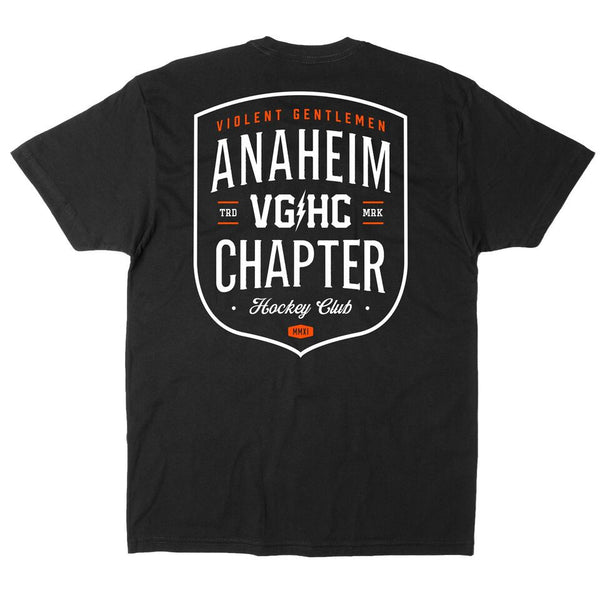Anaheim Chapter HC Tee - Black - Men's T-Shirts - Violent Gentlemen