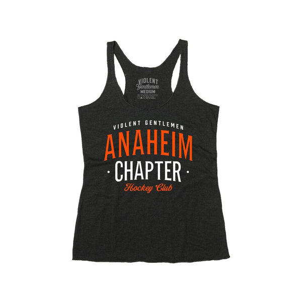 Anaheim Chapter HC Womens Racerback - Black - Women's Racerbacks - Violent Gentlemen