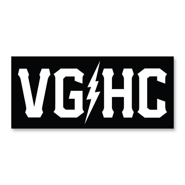 VGHC Bumper Sticker - Black - Accessories - Violent Gentlemen