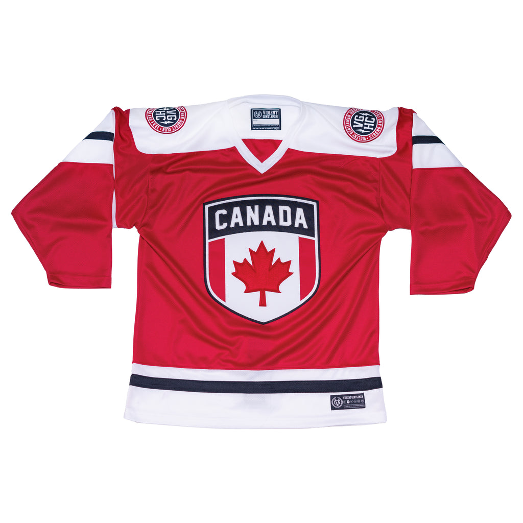 Team Canada Jersey - Red - Jerseys - Violent Gentlemen