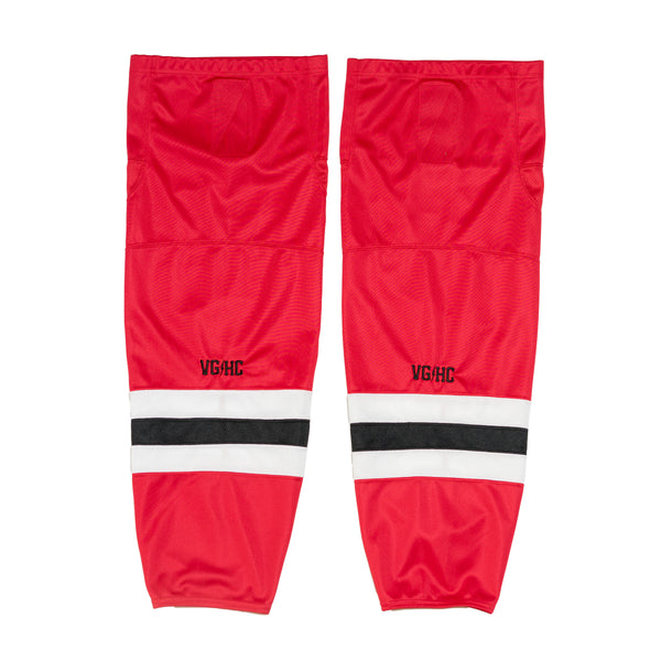 Team Canada Hockey Socks - Red - Jerseys - Violent Gentlemen