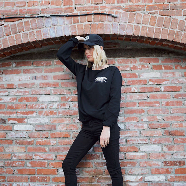 Support Womens Crew Neck -  - Women's Fleece Tops - Violent Gentlemen