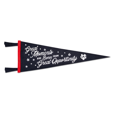 Great Moments Pennant - Blue - Accessories - Violent Gentlemen