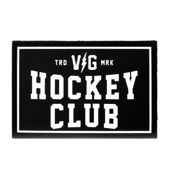 Hockey Club PVC Velcro Patch -  - Accessories - Violent Gentlemen