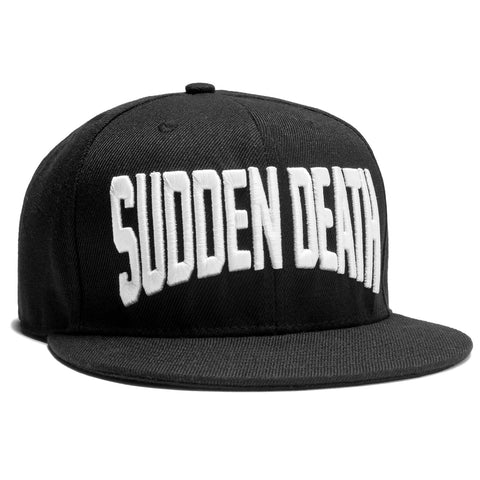 Sudden Death Snapback - Black - Hats - Violent Gentlemen