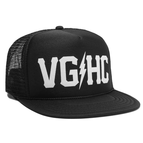 Weekend Trucker - Black - Hats - Violent Gentlemen