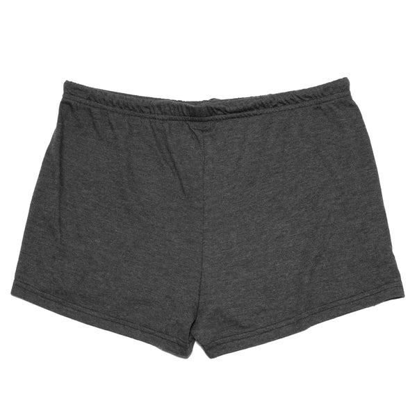 Bolts Tri-Blend Shorts - Tri-Black - Women's Fleece Tops - Violent Gentlemen