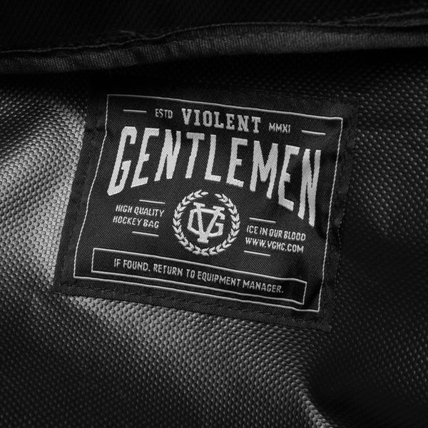 VG Hockey Bag - Black - Accessories - Violent Gentlemen