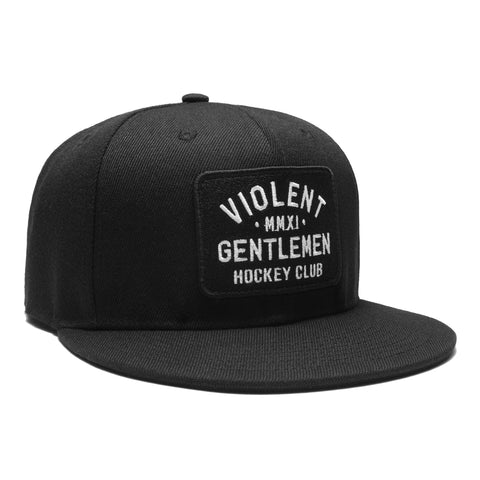 Loyalty Snapback - Black - Hats - Violent Gentlemen