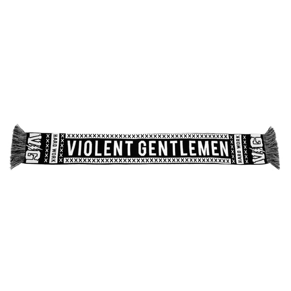 Supporter Scarf - Black - Accessories - Violent Gentlemen