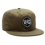 Brass Bonanza Unstructured Hat - Olive - Hats - Violent Gentlemen