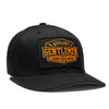 Hard Work Flexfit - Black/Orange - Accessories Hats - Violent Gentlemen