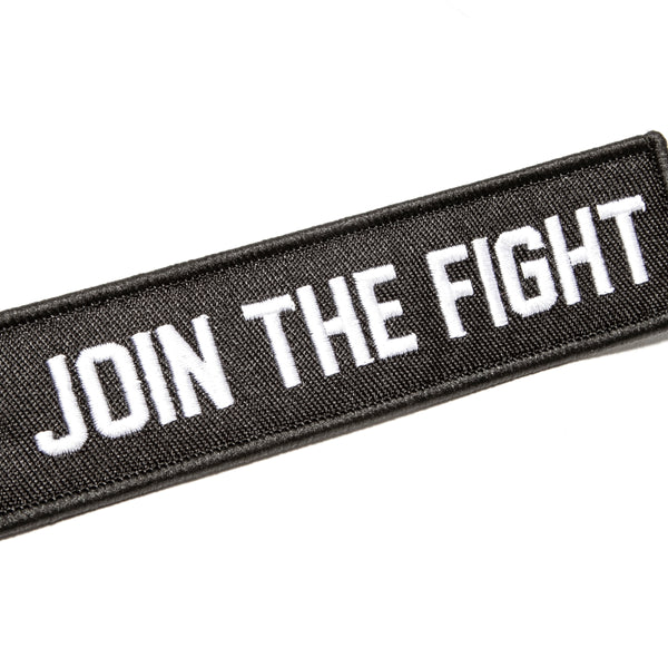 Join The Fight Jet Tag - Black - Accessories - Violent Gentlemen