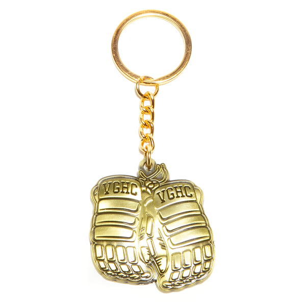 Warrior Metal Keychain - Gold - Accessories - Violent Gentlemen