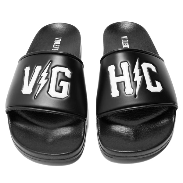 Bolts Slide Sandals -  - Accessories - Violent Gentlemen