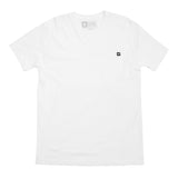 Bolts Pocket Tee - White - Men's T-Shirts - Violent Gentlemen