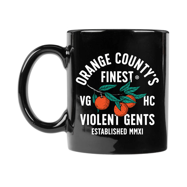 OC's Finest Diner Mug - Black - Accessories - Violent Gentlemen