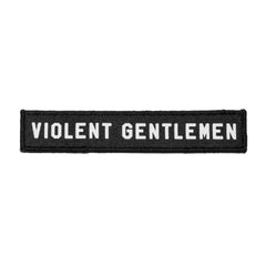Soft Block Velcro Patch -  - Accessories - Violent Gentlemen