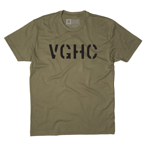 Rise Tee - Military Green - Men's T-Shirt - Violent Gentlemen