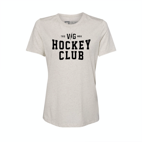 Hockey Club Womens Tee -  - Women's T-Shirts - Violent Gentlemen