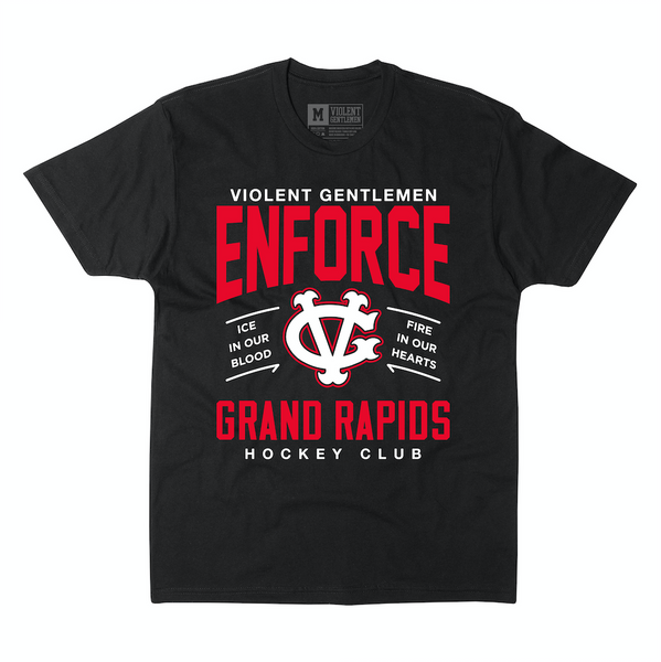 Enforce Grand Rapids Tee -  - Men's T-Shirts - Violent Gentlemen