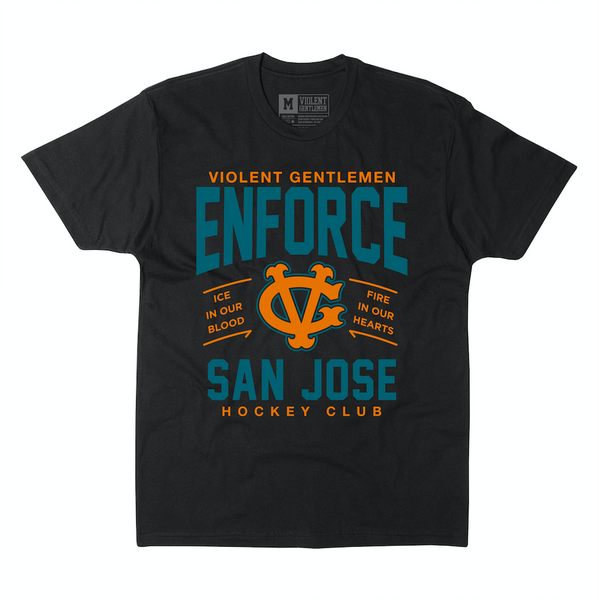 Enforce San Jose Tee -  - Men's T-Shirts - Violent Gentlemen