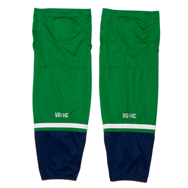 Brass Bonanza Hockey Socks - Green - Jerseys - Violent Gentlemen