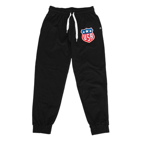 Home Of The Brave Jagr Pants - Black - Men's Fleece Bottom - Violent Gentlemen